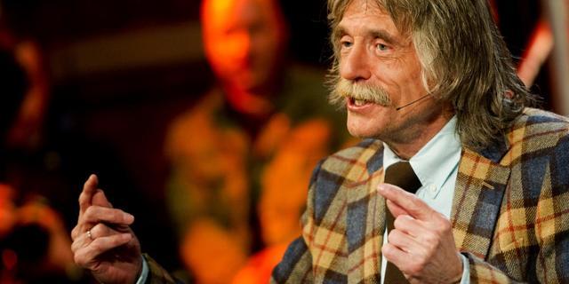 Johan Derksen doet karakter geweld aan voor interviews
