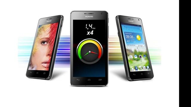 Huawei onthult Android-smartphone van 4,5 inch