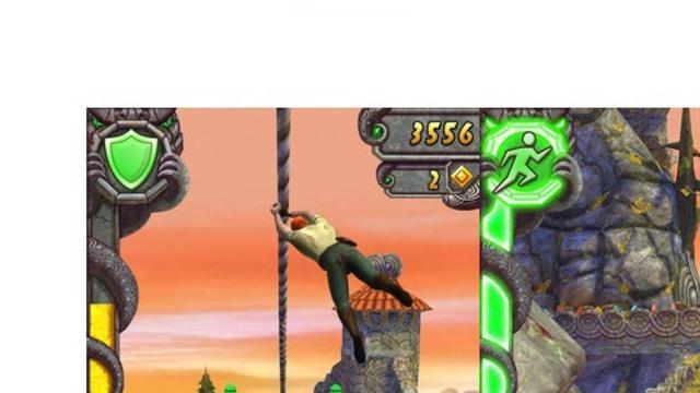 Temple Run-games meer dan miljard keer gedownload