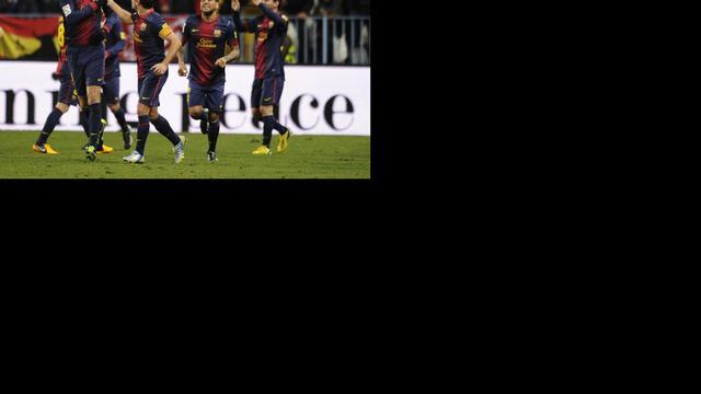 Barcelona en Atletico Madrid naar laatste vier Copa del Rey