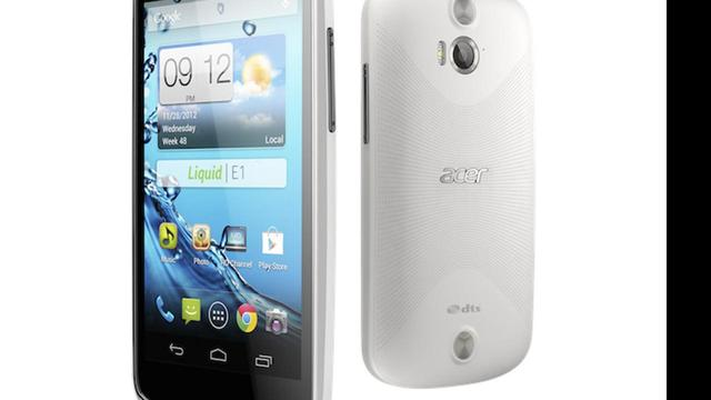 Acer introduceert 4,5-inch Android-smartphone
