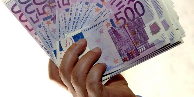 'Schaf 500-eurobiljet af'