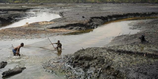 'Claims tegen Shell in Nigeria en Alaska'