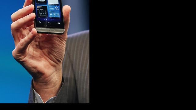RIM onthult nieuw besturingssysteem Blackberry 10