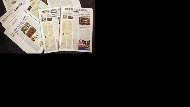 Wall Street Journal stopt met papieren versie in Europa en Azië
