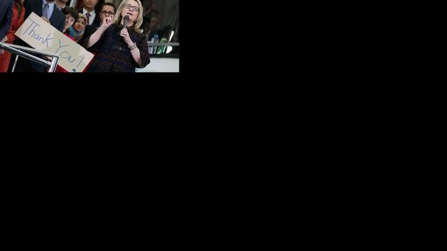 Hillary Clinton treedt af als minister VS