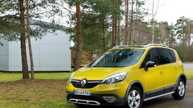 Renault Scénic Xmod onthuld
