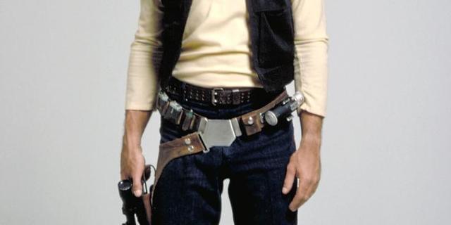 Origineel script Star Wars lost mysterieuze scène Han Solo op