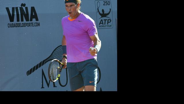 Nadal wint ook eerste partij in enkelspel