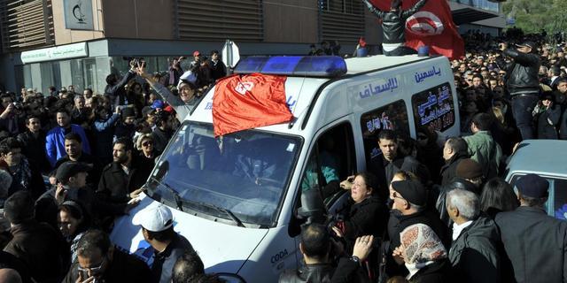 Tunesische militairen doodgeschoten