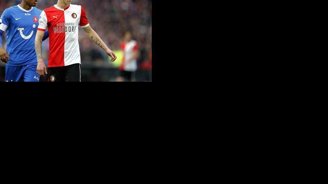 Immers hervat training bij Feyenoord
