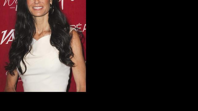 'Demi Moore nog steeds kapot van breuk'