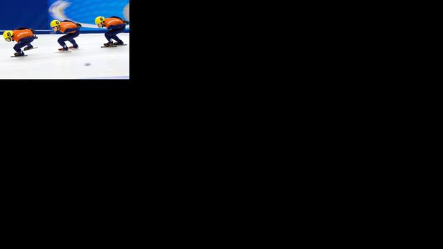 Shorttrackers veroveren wereldtitel op relay