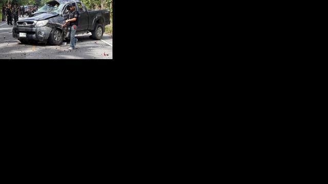 Militairen gedood in zuiden Thailand