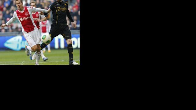 Duur puntenverlies voor Ajax tegen Roda JC