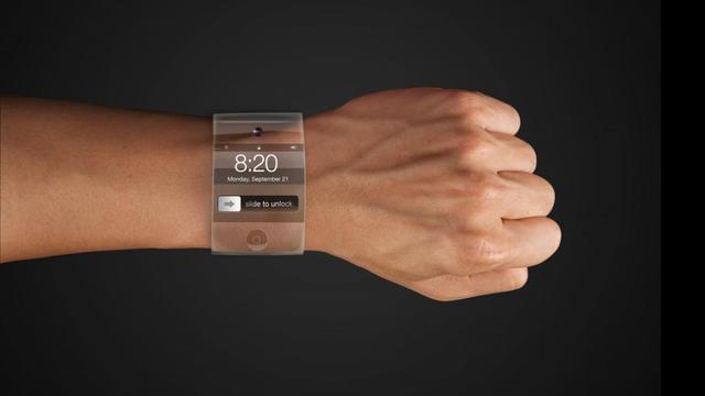 'Apple maakt smart watch van gebogen glas'