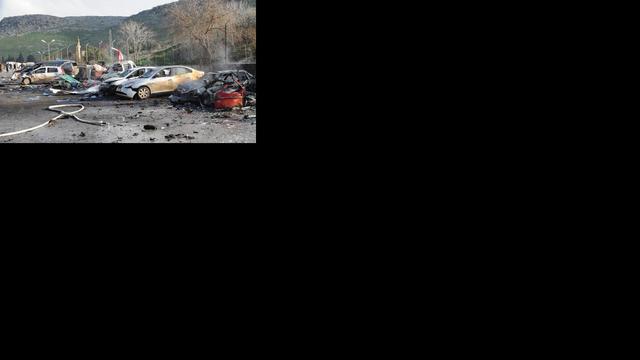 Tientallen doden bij explosies Turkse grensstad