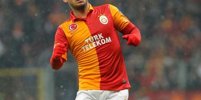 Sneijder traint weer bij Galatasaray