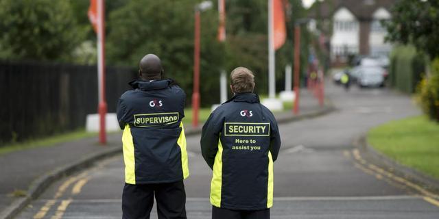 Beveiligingsbedrijf G4S in het rood