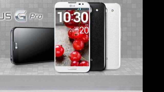 LG Optimus G Pro in augustus in Nederland te koop