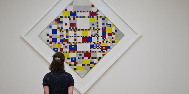 Museum zoekt werk van vriendin Mondriaan