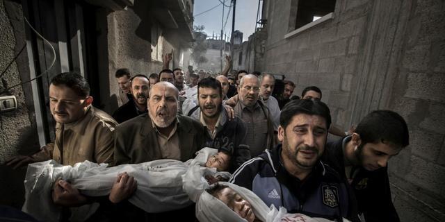 Zweed maakt World Press Photo in Gaza