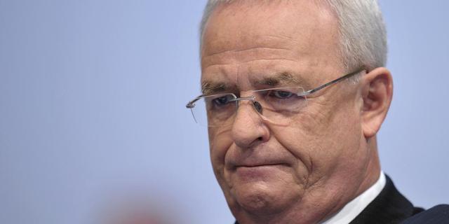 Opnieuw onderzoek naar voormalige Volkswagen-topman Winterkorn