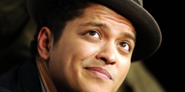 'Bruno Mars treedt op tijdens Super Bowl'
