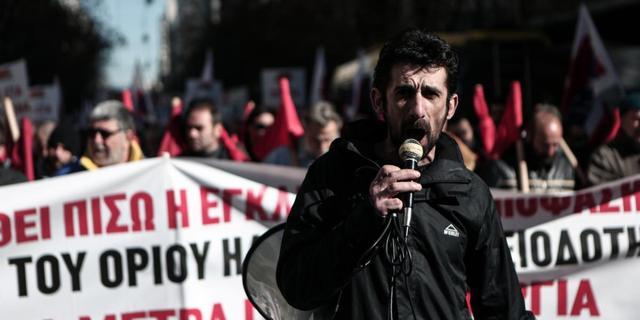 Grieken staken massaal tegen bezuinigingen