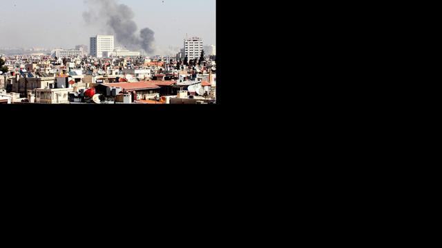 'Leger Irak schiet op rebellen in Syrië'
