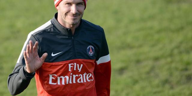 Beckham staat open voor langer verblijf bij PSG