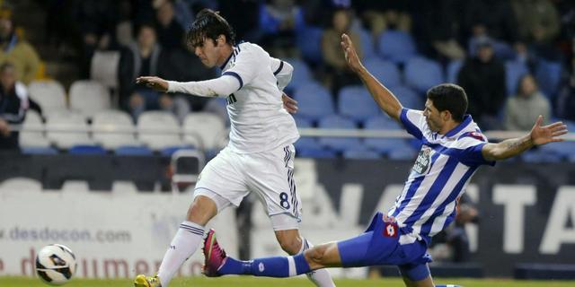 Real Madrid ontsnapt aan blamage tegen Deportivo