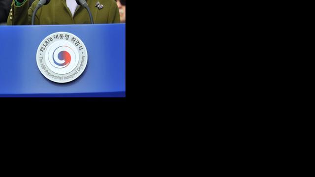 President Zuid-Korea doet oproep aan Noord-Korea