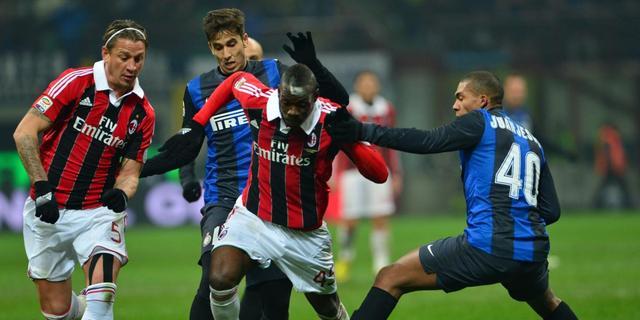Geen winnaar in derby van Milaan