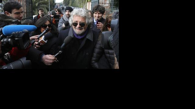 Grillo gedoogt beslist geen regering Bersani