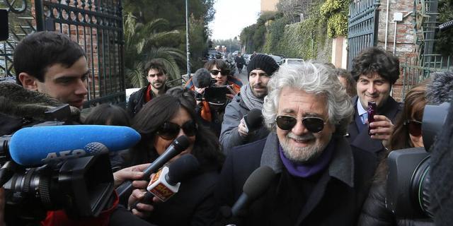 Grillo weigert vertrouwen aan Bersani