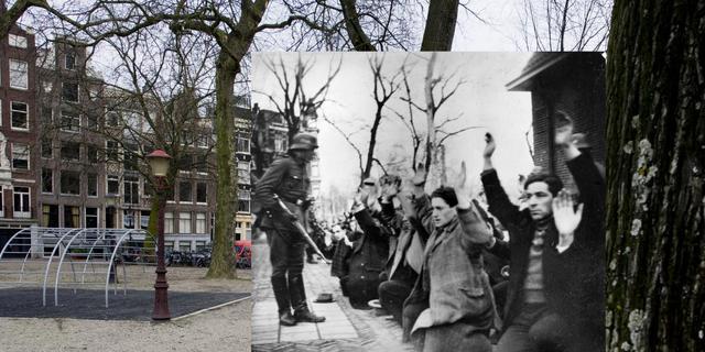 Februaristaking herdacht in Amsterdam