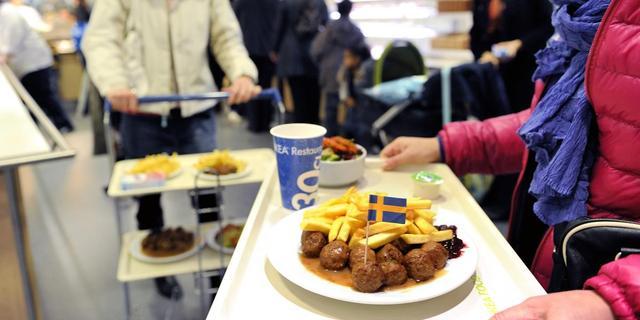 Paardenvlees in gehaktballen Ikea