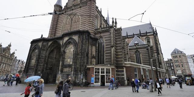Nieuwe Kerk bijna maand dicht voor inhuldiging