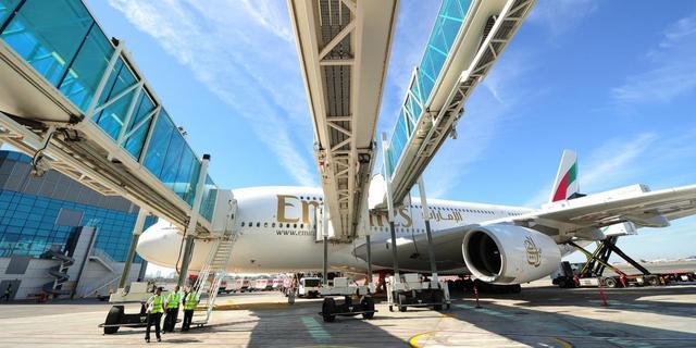 Meer winst luchtvaartmaatschappij Emirates