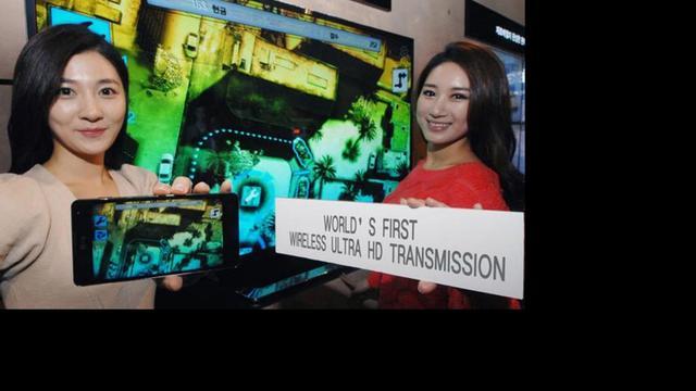 LG streamt ultra hd-beelden draadloos via smartphones