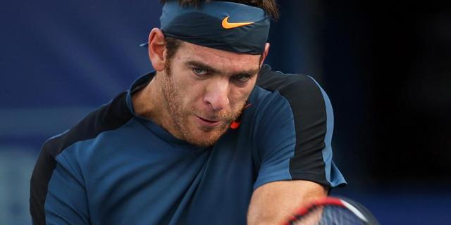Federer, Djokovic en Del Potro bereiken kwartfinales in Dubai