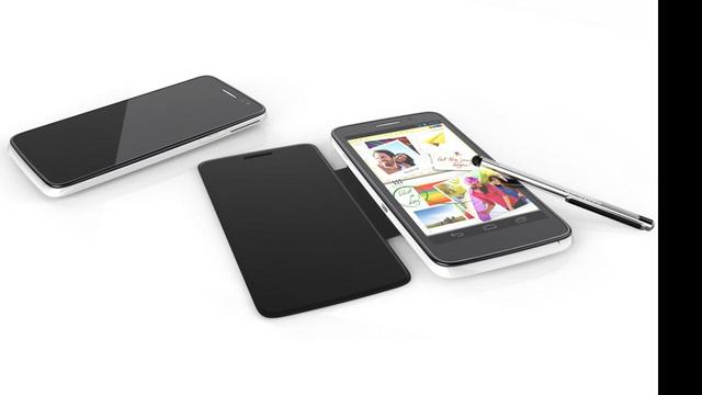 Alcatel presenteert Note-concurrent van 5 inch