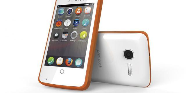 Alcatel presenteert smartphone met Firefox OS