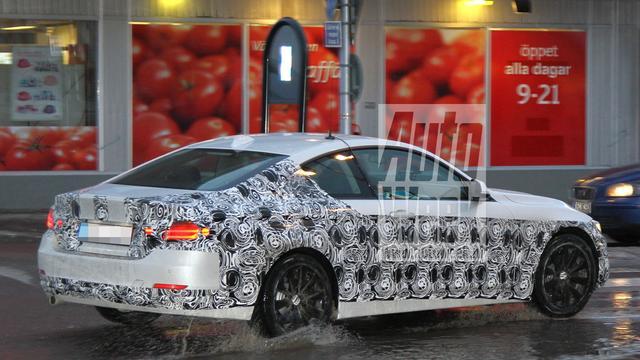 Nieuwe foto's van BMW 4-serie