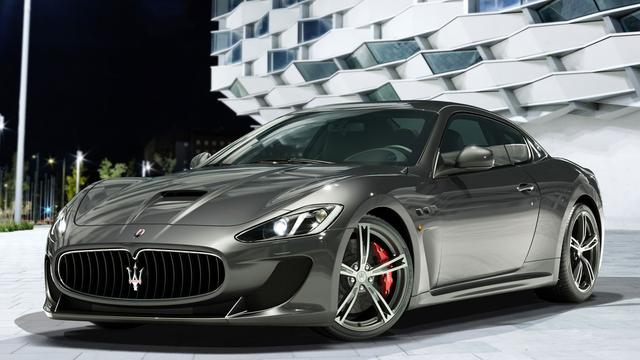 Maserati MC Stradale geschikt voor vier personen