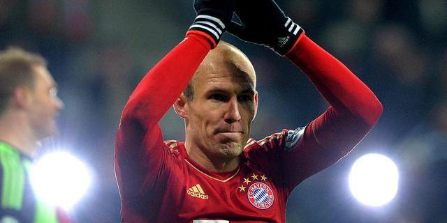 Robben nog niet gerust op finaleplaats