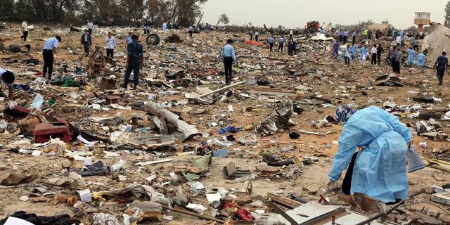 Ambassadeur kaart direct vliegramp Tripoli aan