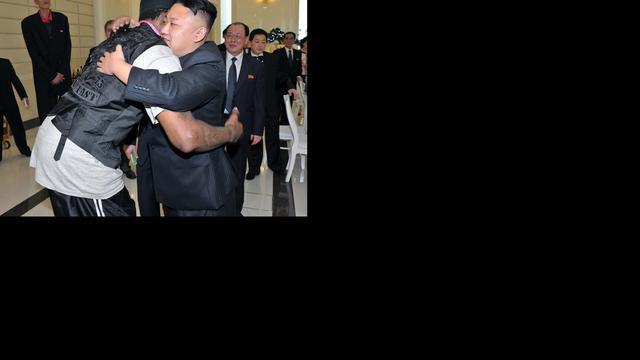 Dennis Rodman neemt het op voor Kim Jong-un