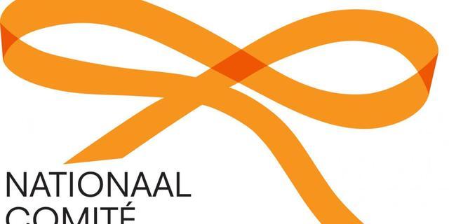 Oranje strik officieel logo inhuldiging
